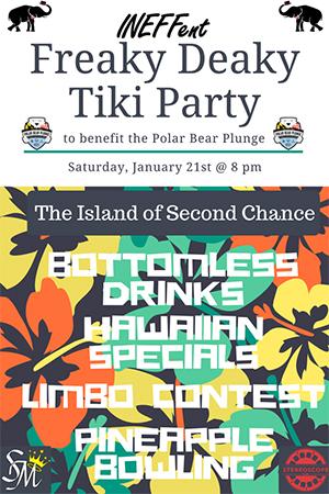 Poster for Freaky Deaky Tiki Party
