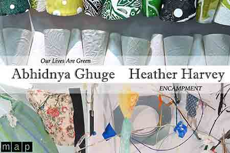 Exhibition: Abhidnya Ghuge and Heather Harvey