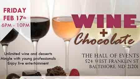 Wine + Chocolate Flyer