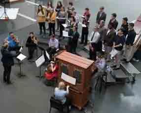 Photo of the Bach Cantata