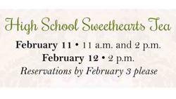 High School Sweethearts Tea brochure