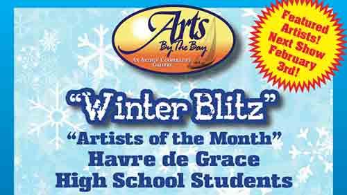 Portion of Winter Blitz Artist Reception Poster