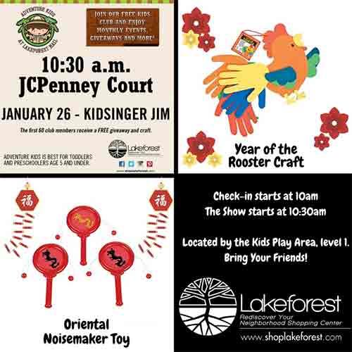 Adventure Kids event with Kidsinger Jim poster