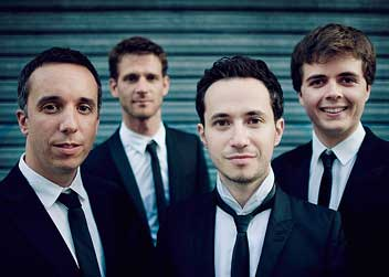 Quatuor Ebène musicians