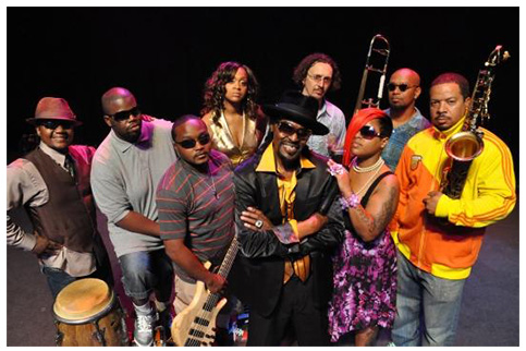 Photo of the Chuck Brown Band