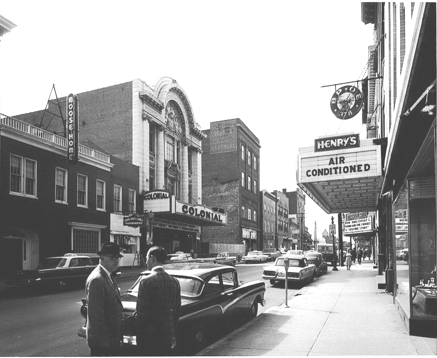 The Maryland, the Colonial & Henry's Theatres