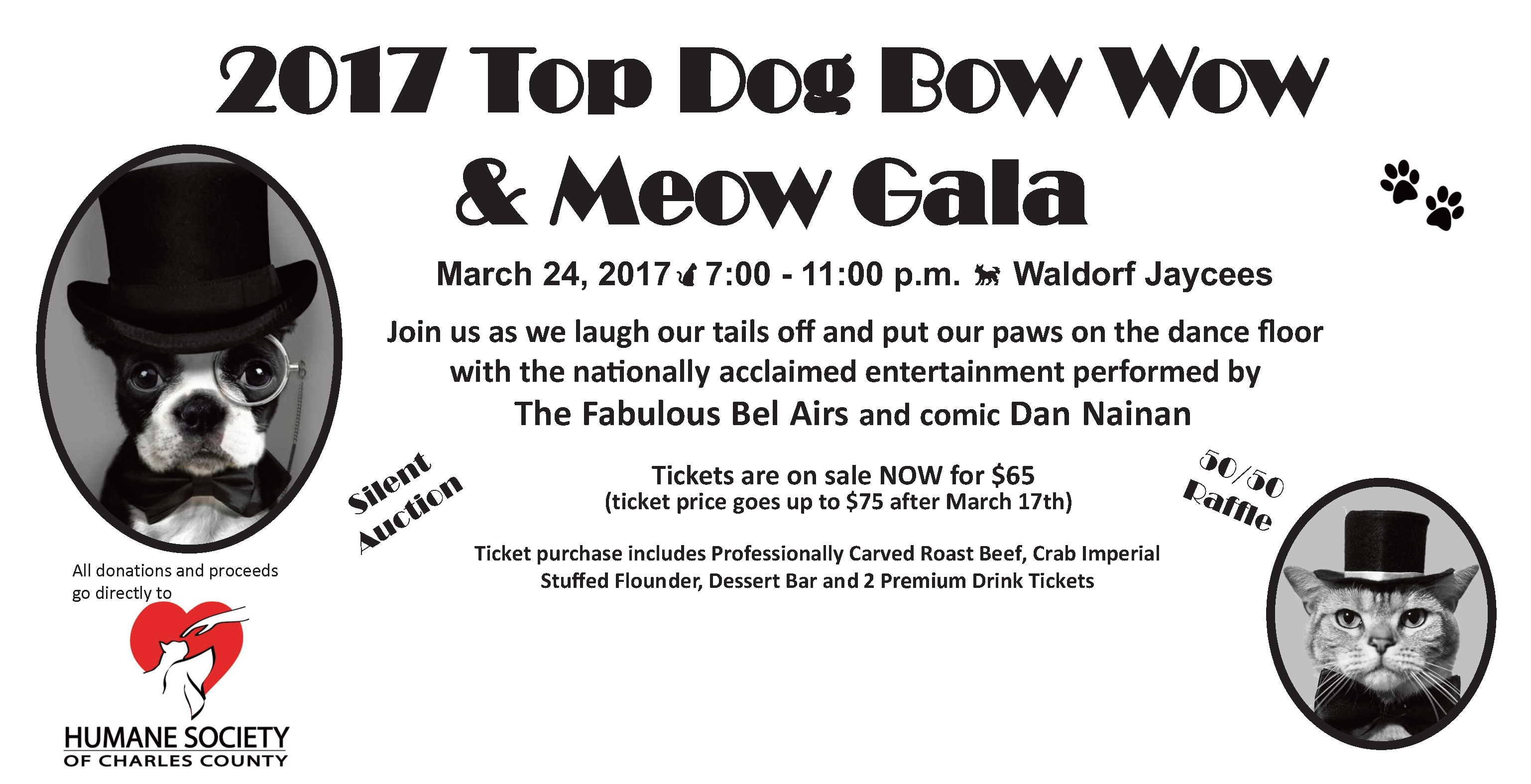 Top Dog promotion flyer