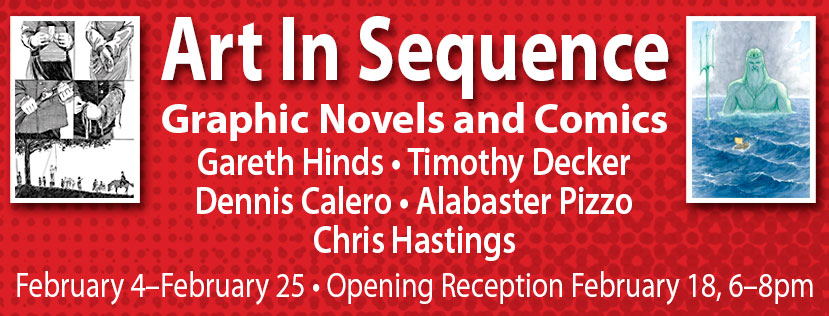 Art in Sequence - Graphic Novels and Comics