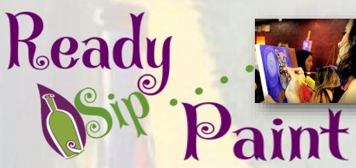 Ready, Sip, Paint logo