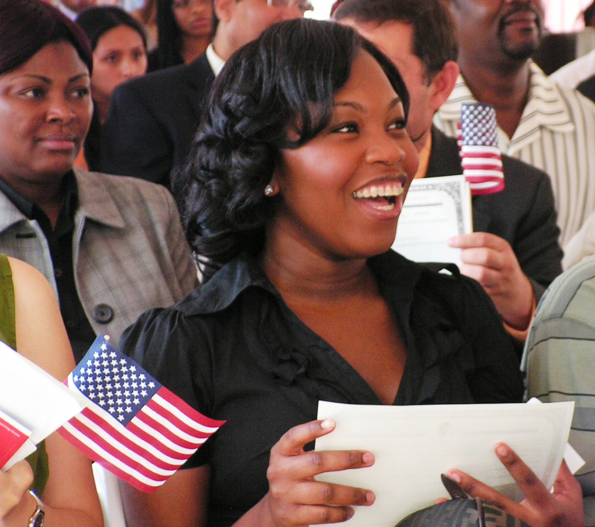 July 4th Naturalization Ceremony
