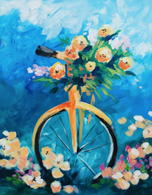Image of the Painting Assignment - Bicicletta