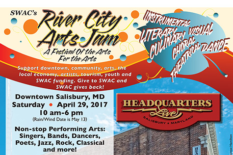 River City Arts Jam 2017 flyer