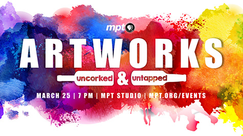 Artworks Uncorked and Untapped logo