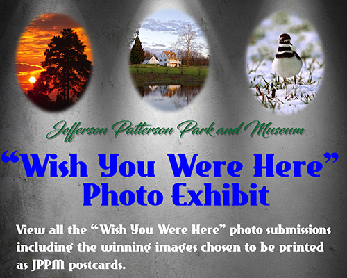 Wish Your Were Here Photo Exhibit flyer
