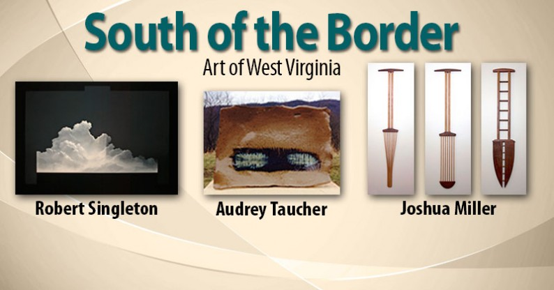 South of the Border Art Exhibit Poster