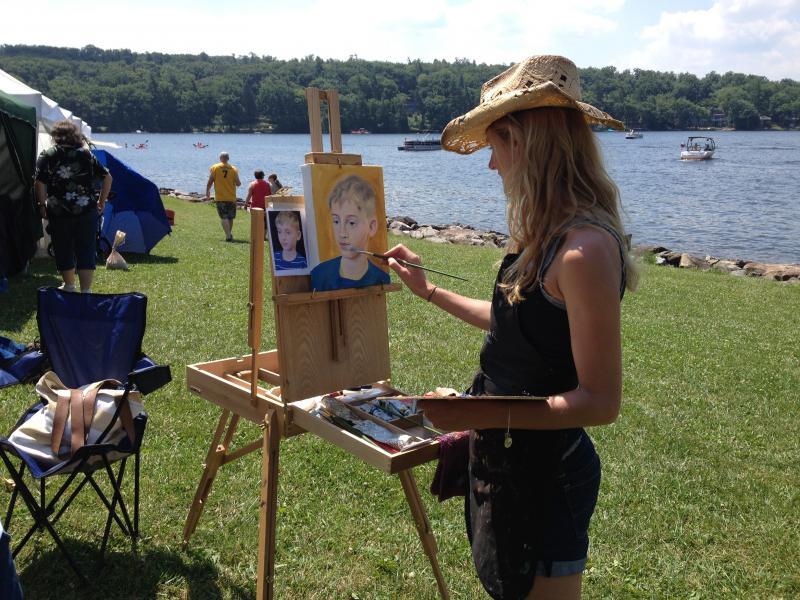 Art in the Park features art, live animals, kids activities & food at Deep Creek Lake