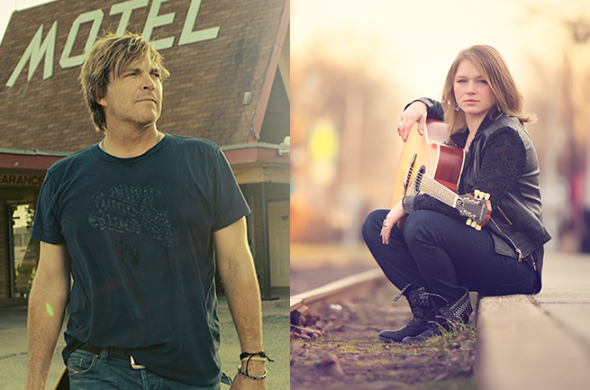 Jack Ingram and Crystal Bowersox