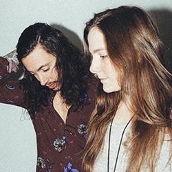 Folk musicians Noah & Abby Gundersen