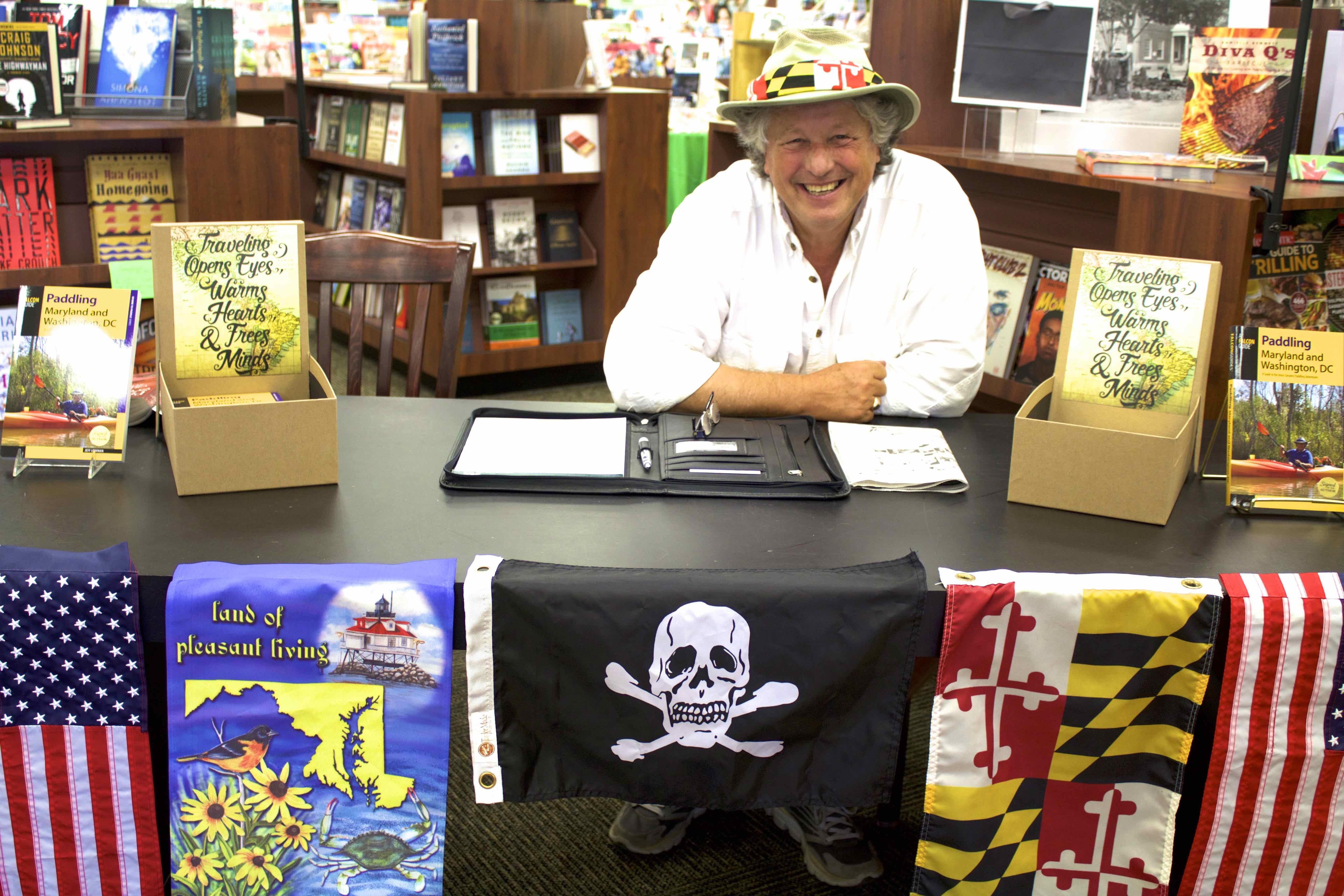 Jeff Lowman at Author Book Signing