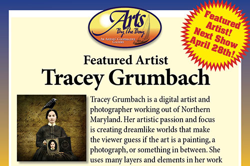 Aartist Tracey Grumback at Arts by the Bay flyer