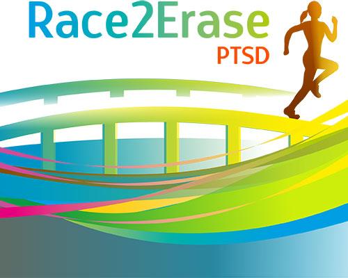 Race2Erase PTSD logo