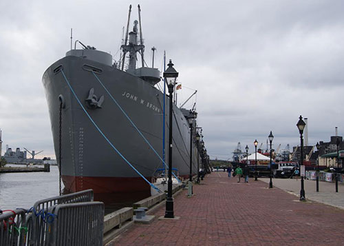 The John W Brown at Fells Point