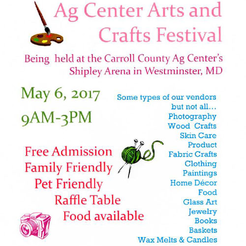 Ag Center Arts and Crafts Festival flyer