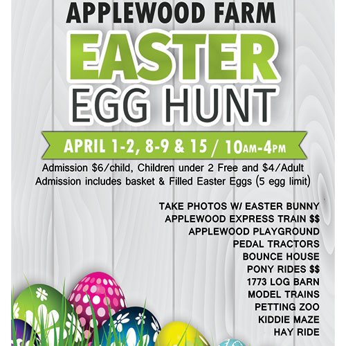 Applewood Farm Easter Egg Hunt