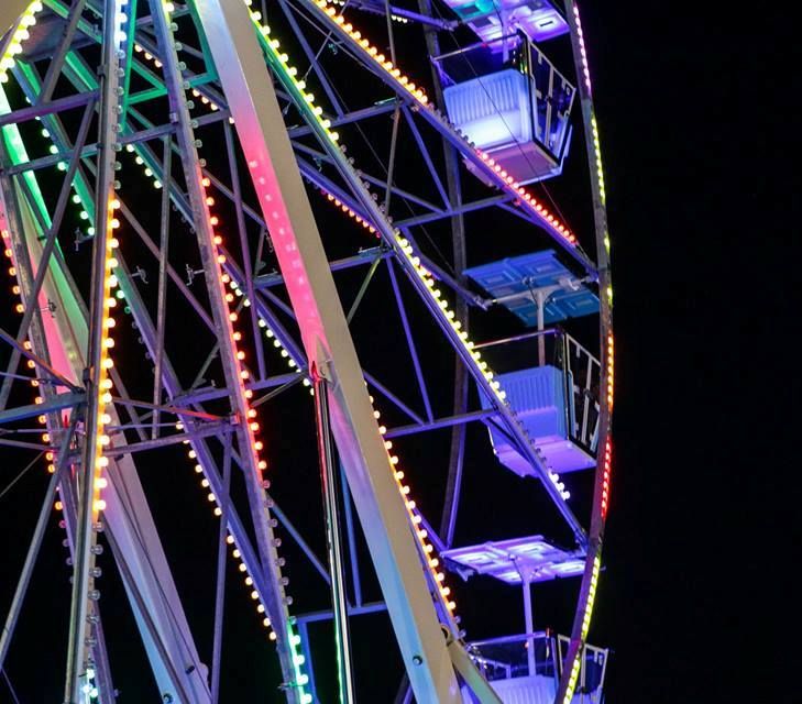 The Dream Wheel offers riders a bird's-eye view of Delmar.