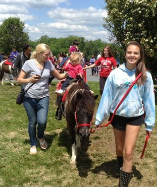 Pony rides are part of the fun!