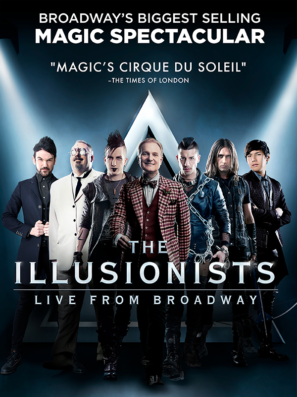 The Illusionists flyer