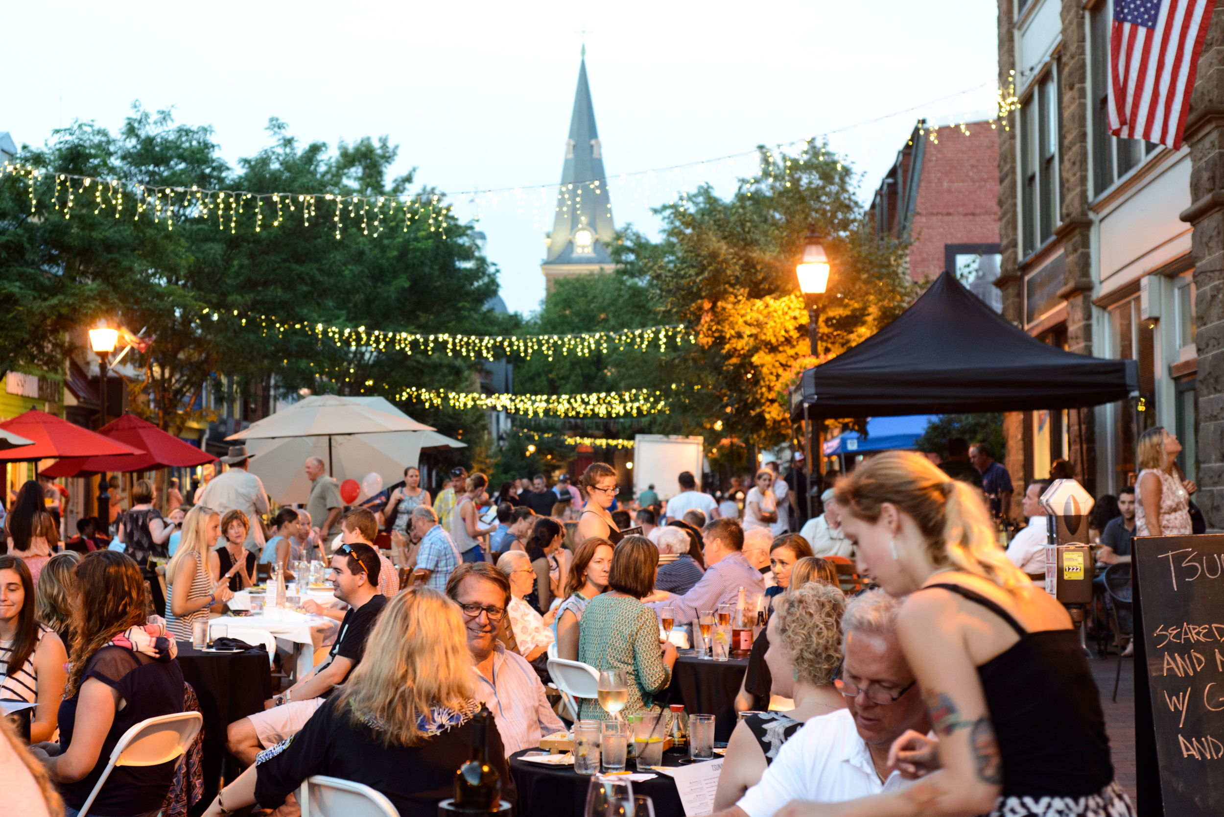 Dinner Under the Stars - Annapolis