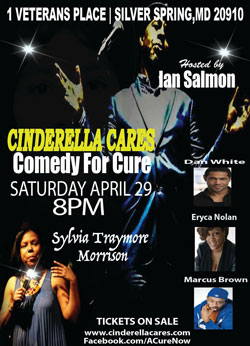Featured Comedians, Sylvia Traymore Morrison, Dan White, Eryca Nolan, and Marcus Brown
