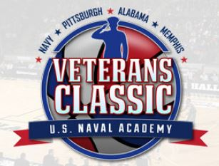 The 2017 Veterans Classic logo