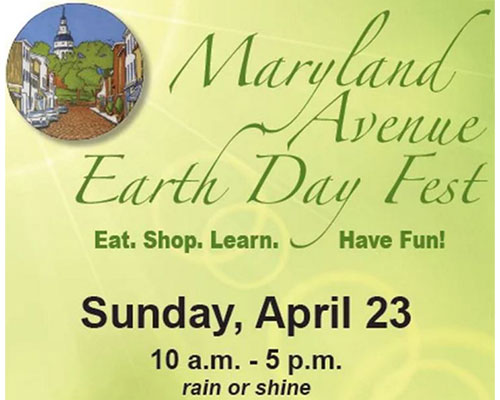 Maryland Avenue Green Fest poster art