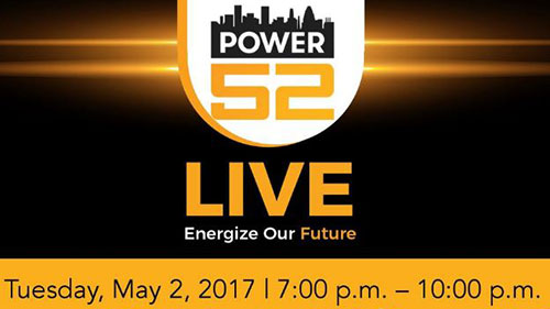 Power52 Live - Energize Our Future logo