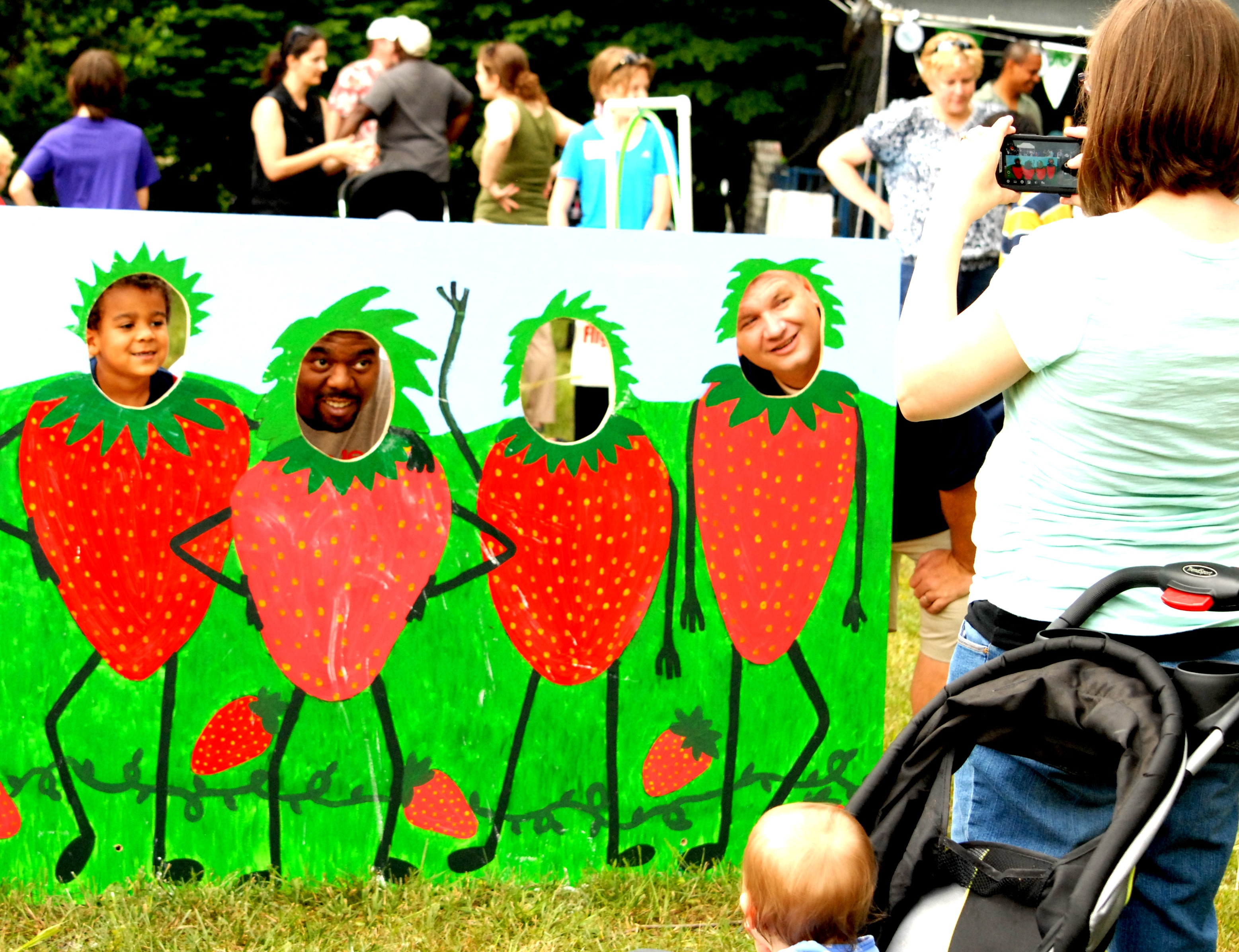 Kids and adults have a blast at festival