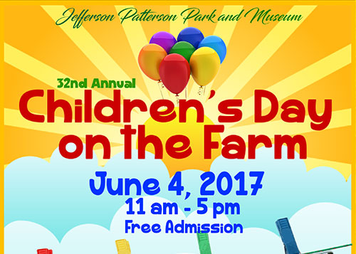 Children's Day on the Farm poster