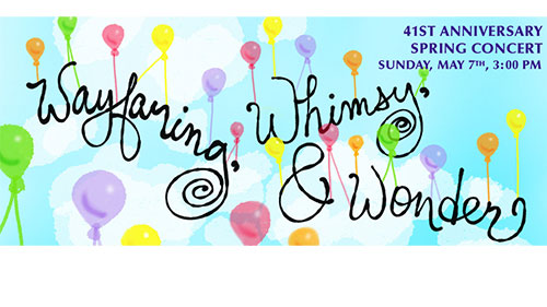 Wayfaring, Whimsy and Wonder flyer