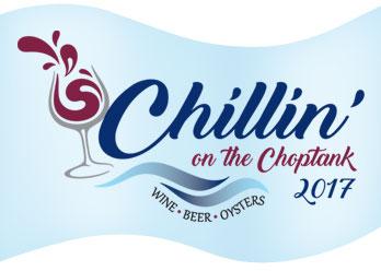 Chillin' on the Choptank logo