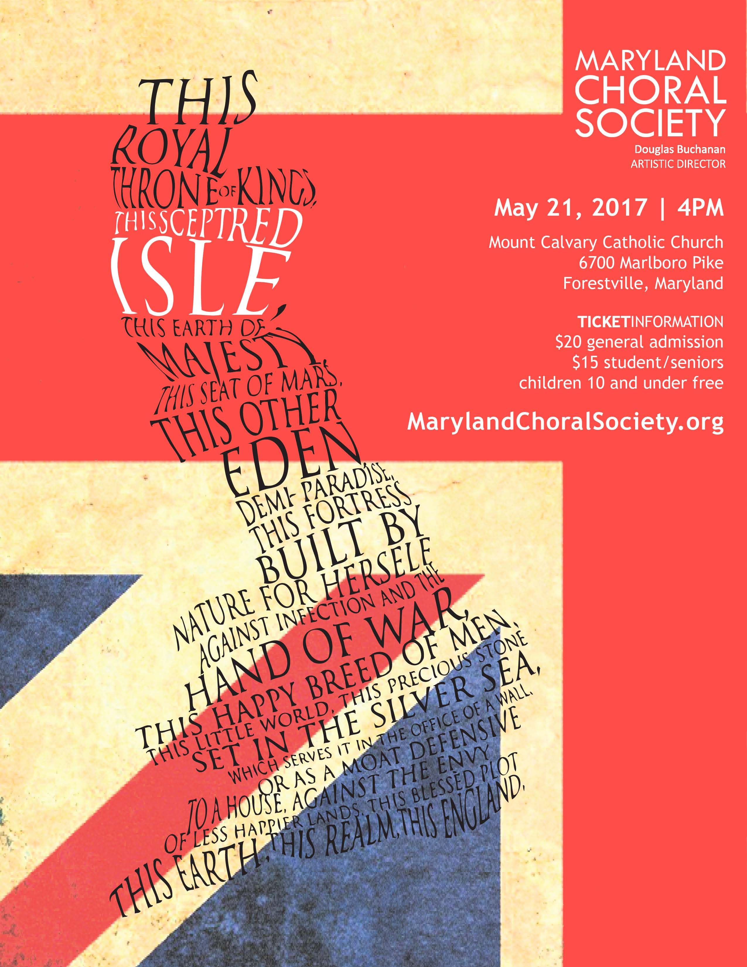 Sceptred Isle poster