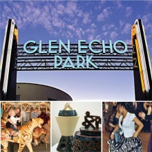 Glen Echo Park Sign and Art Photos