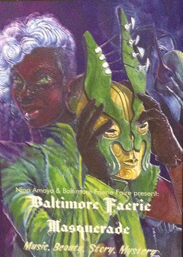 Baltimore Faerie Masquerade Ball art