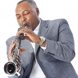 Smooth jazz saxophonist Art Sherrod, Jr.