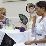 Regency Era ladies enjoying refreshing lemonade