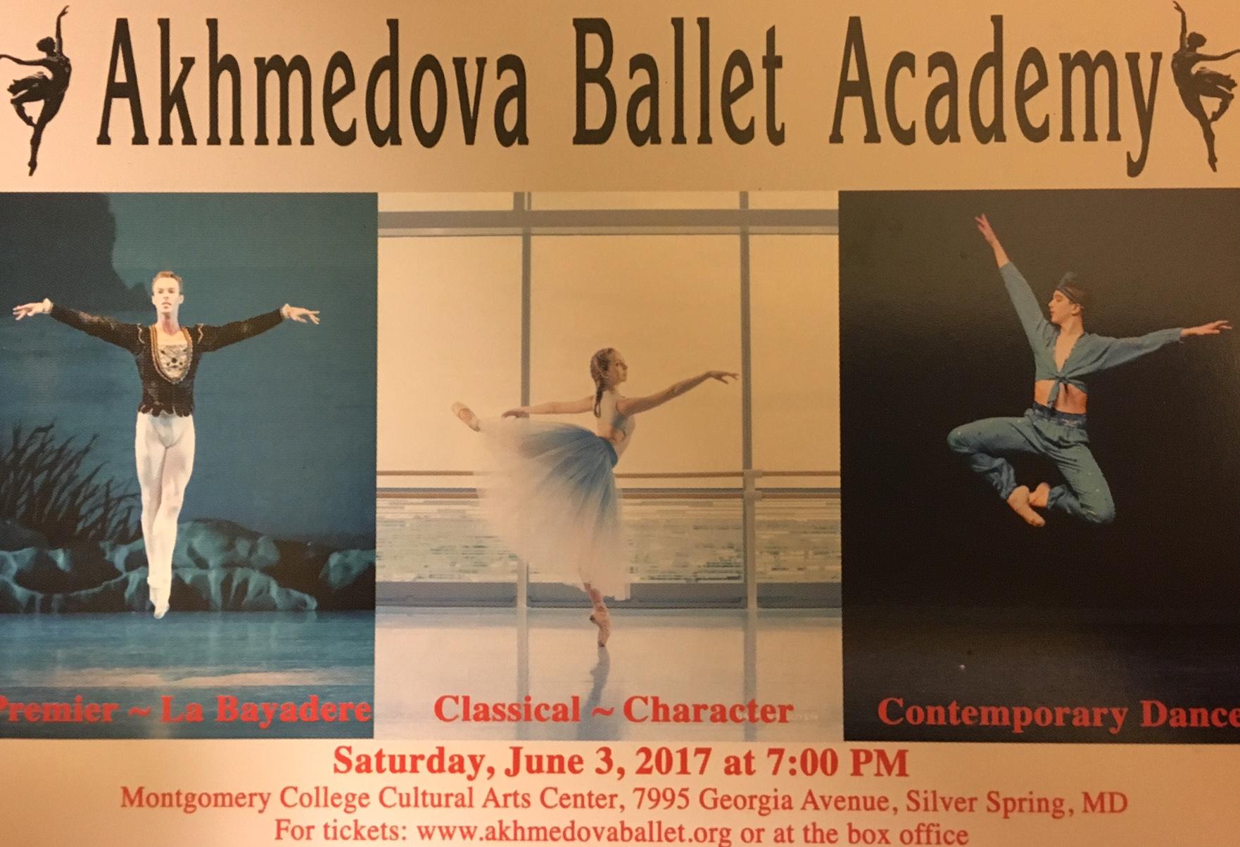 Akhmedova Ballet Academy poster