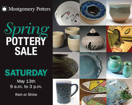 Montgomery Potters Spring Sale flyer