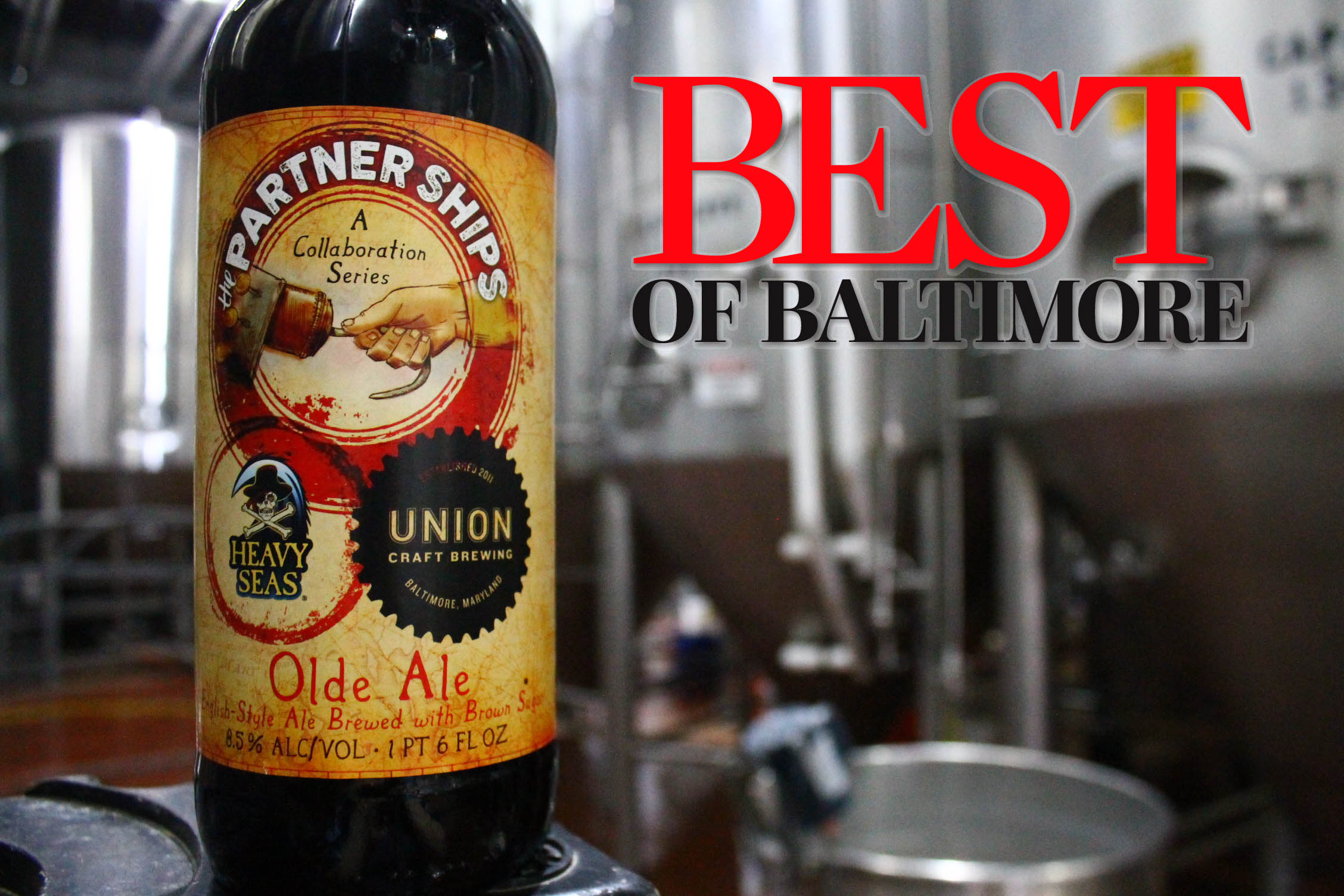 PartnerShips: Olde Ale - Heavy Seas & Union Craft Brewing