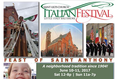 Italian Festival flyer