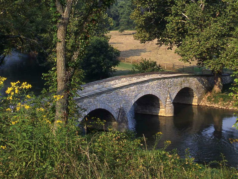 Burnside Bridge, Antietam Creek
